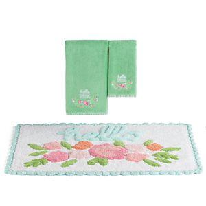 Celebrate Spring Together Hello Spring Bath Towel & Rug Collection