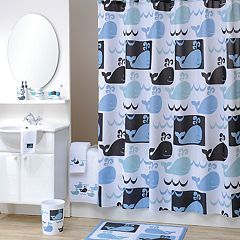 Click here to buy Allure Home Creations Whale Watch Bath Accessories Collection.