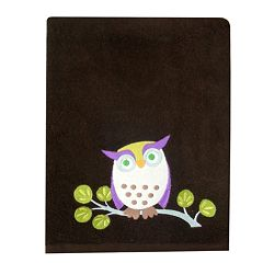 Allure Home Creations Awesome Owls Bath Towels by