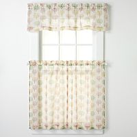 CHF & You Orchard Tier Kitchen Curtains