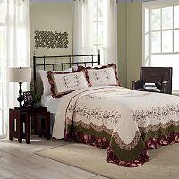 Peking Brooke Quilted Bedspread Coordinates
