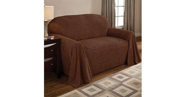 Kohl Furniture Store: Coral Fleece Furniture Throws