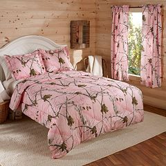 Realtree Camo Reversible Bedding Collection by