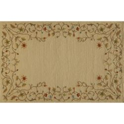 Click here to buy Momeni Veranda Floral Scroll Indoor Outdoor Rug.