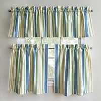 Park B. Smith Cape Cod Tier Kitchen Curtains