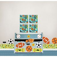 WallPops Junior Varsity Wall Decal Coordinates