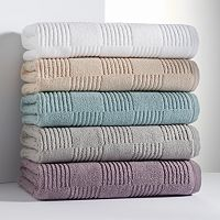 Simply Vera Vera Wang Tile Texture Bath Towels