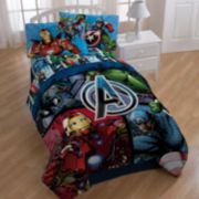 Marvel Avengers Reversible Bedding Collection