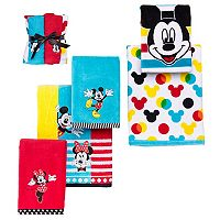 Disney's Mickey & Minnie Mouse Bath Towel Collection by Jumping Beans®