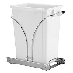 Leifheit 2-pc. Glidez Under-Cabinet Roll-Out Caddy & Trash Can Set by