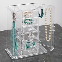 Richards Homewares Clearly Chic Cosmetic Storage Collection