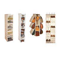Richards Homewares Loft Natural Closet Storage Collection