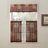 Eden Tier Kitchen Curtains
