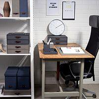 Bigso Box of Sweden Textured Canvas Desktop Organizer Collection
