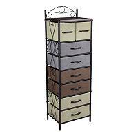 Household Essentials 8-Drawer Storage Unit Collection