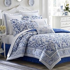 Click here to buy Laura Ashley Lifestyles Charlotte Bedding Collection.