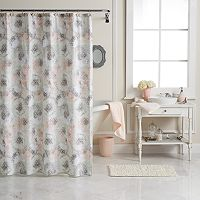 LC Lauren Conrad Peony Dreams Shower Curtain Collection
