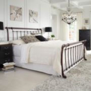 Legion Queen Sleigh Bed