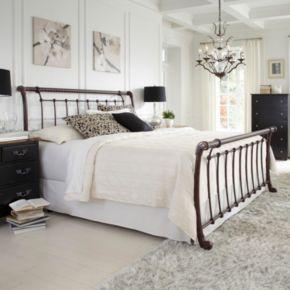 Legion Queen Sleigh Bed