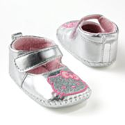 Hello Kitty Metallic Mary Jane Shoes - Baby
