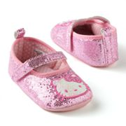 Hello Kitty Glittery Mary Jane Shoes - Baby