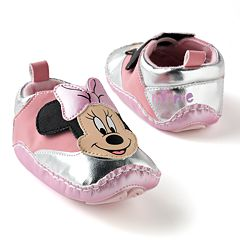 Disney Mickey Mouse & Friends Minnie Mouse Metallic Sneaker Shoes - Baby