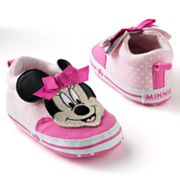 Disney Mickey Mouse and Friends Minnie Mouse Dot Sneaker Shoes