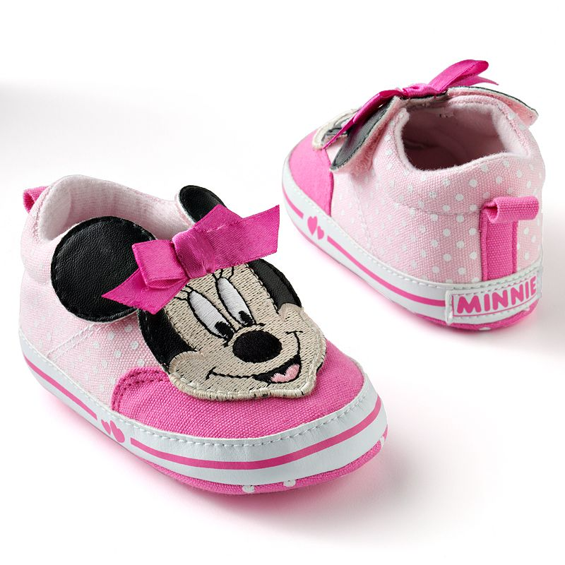 Disney Pink Mickey Mouse & Friends Minnie Mouse Dot Sneaker Shoes