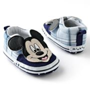 Disney Mickey Mouse Plaid Sneaker Shoes