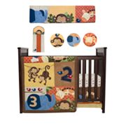 Kids Line Jungle 1, 2, 3 8-pc. Crib Set