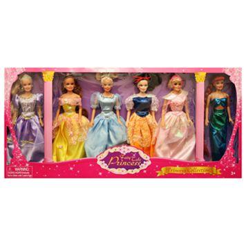 Fairy Tale Princess 6-pk. Doll Gift Set