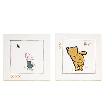 Disney Winnie the Pooh & Friends My Friend Pooh Wall Art Set by Crown Crafts
