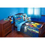Disney's Mickey Mouse Zero Gravity 4 pc Bedding Set - Toddler
