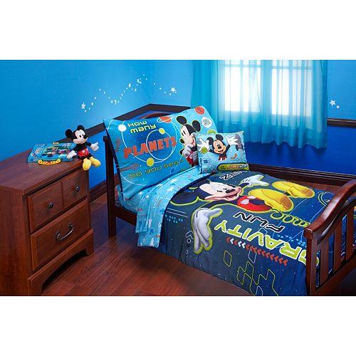 quality design 53d29 d1428 Disney's Mickey Mouse Zero Gravity 4-pc. Bedding Set - Toddler