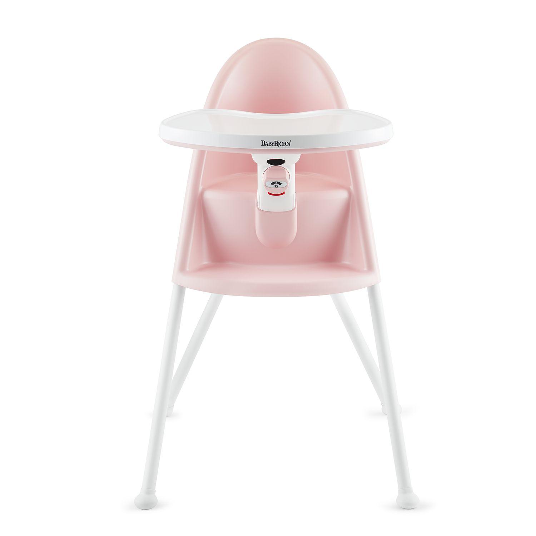 BabyBjorn High Chair. Light Pink Red