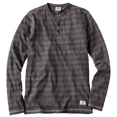Vans Enlisted Striped Henley