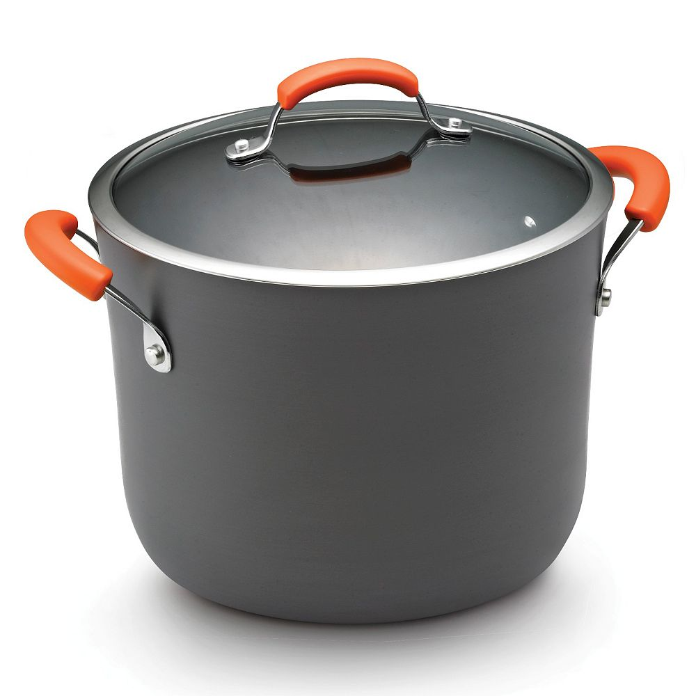 Rachael Ray® 10-qt. Nonstick Covered Stockpot