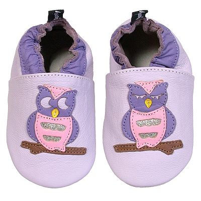 Tommy Tickle Owl Shoes - Baby