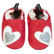 Tommy Tickle Heart Shoes - Baby