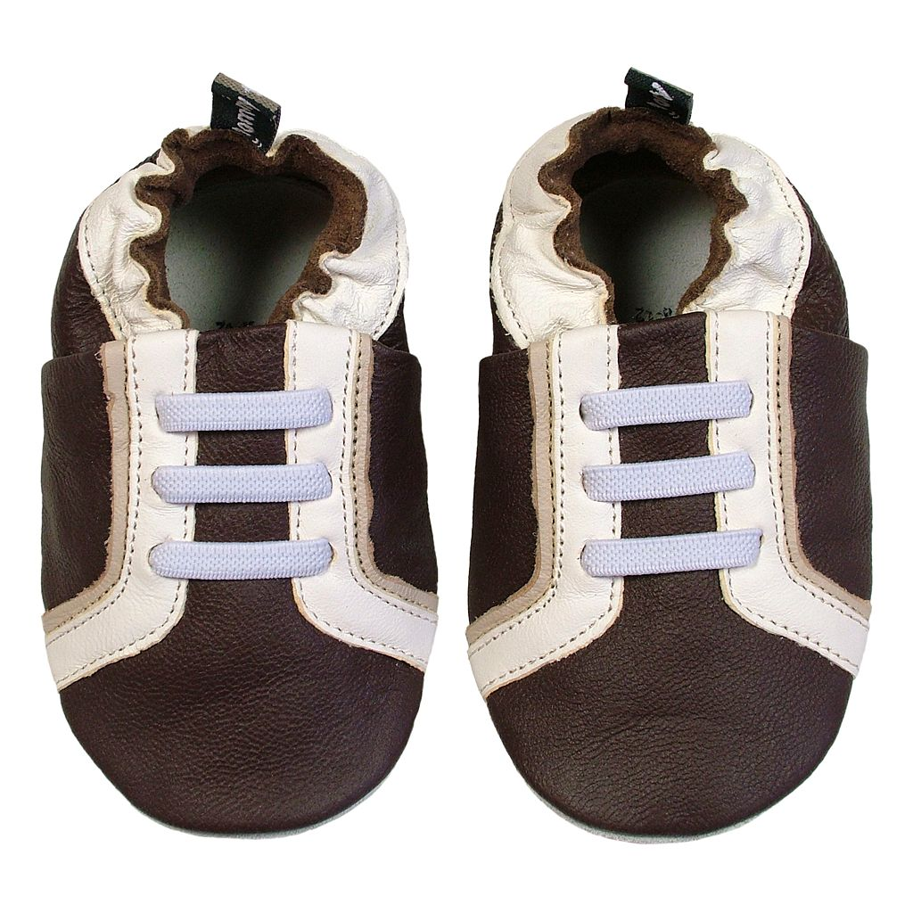 Tommy Tickle Baby Brown Leather Sport Shoes
