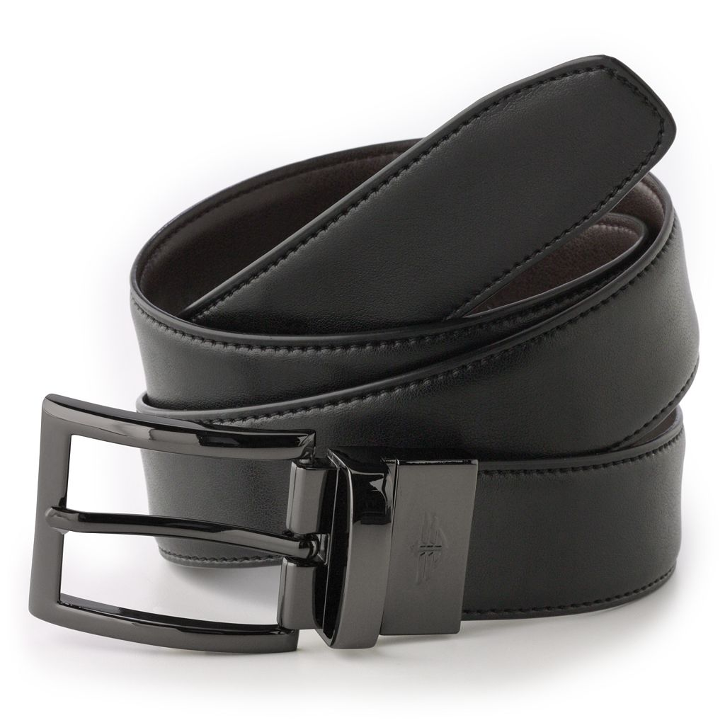 Men's Dockers® Reversible Edge Stitch Leather Belt