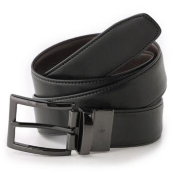Men's Dockers® Reversible Edge Stitch Leather Belt