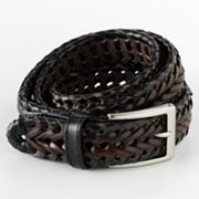 Dockers Two-Tone Braided Leather Belt
