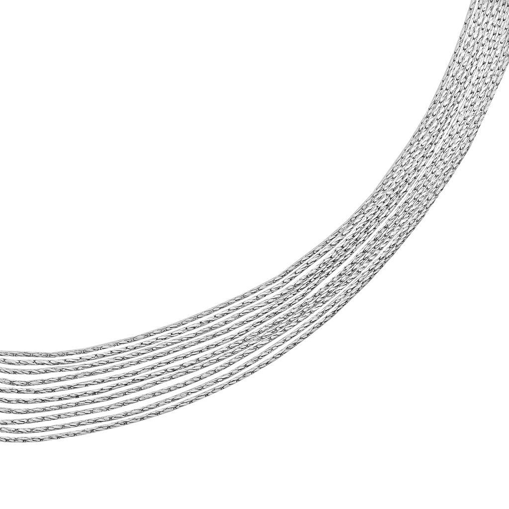 Sterling Silver Multistrand Bracelet