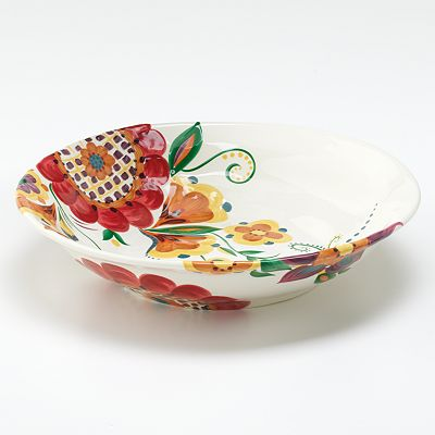 Corsica Home Bloom Serving Bowl