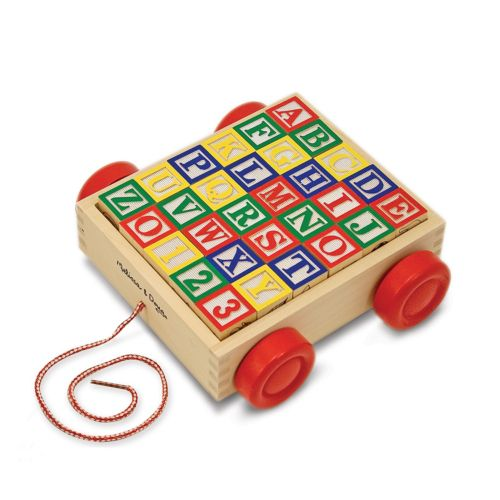 Melissa and Doug ABC Block Cart