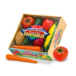 Melissa and Doug Play-Time Produce Vegetables
