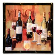 Wine Wall Plaque