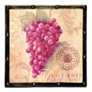 Grapes Wall Plaque