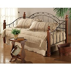 Camelot Daybed with Wooden Posts